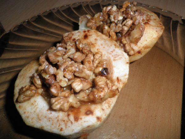 Pečené medové jabĺčka s orieškami  