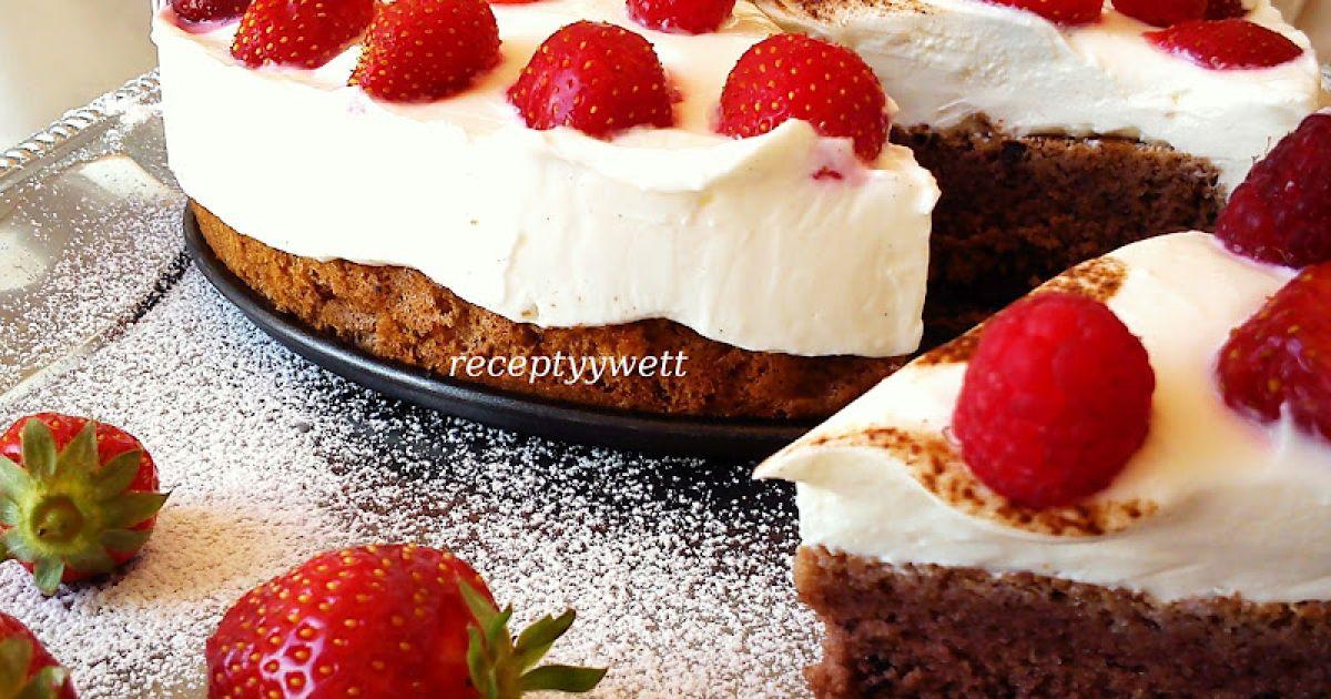 Ovocná mini torta s tvarohom a jahodami, fotogaléria 1 / 8.