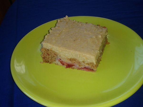 Slivkový koláč bez vajec |