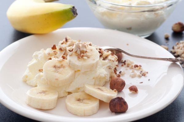 Smotanová pasta s banánom |