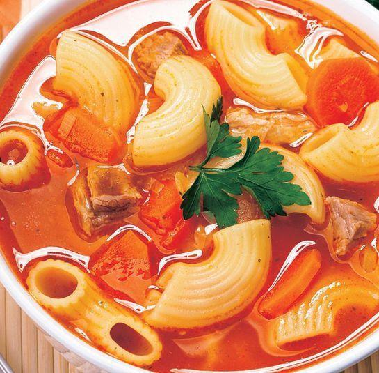 Zeleninová polievka s paradajkami |