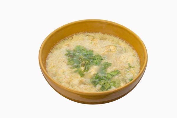 Jednoduchá vajcová polievka |
