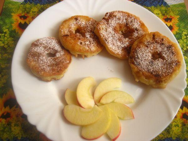 Vyprážané jablká  