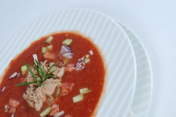 Štipľavé červené gazpacho |