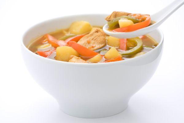 Čínska bravčová polievka |