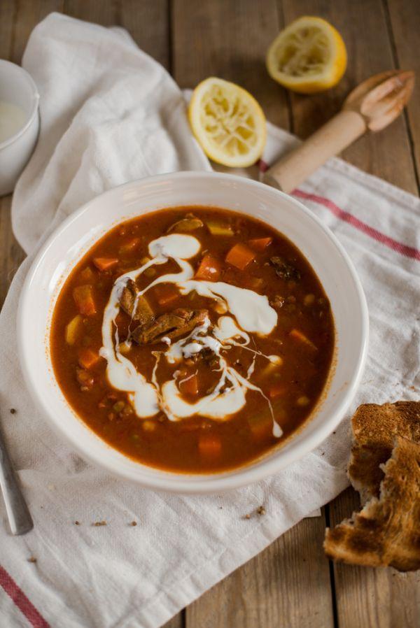 Marocká cícerová polievka |
