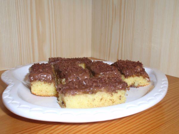 Banánovo-čokoládový koláč |