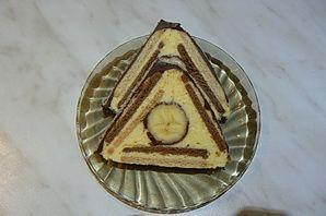 Trojuholníky z keksov |