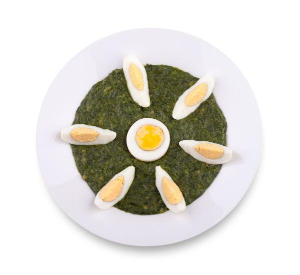 Špenát s vajcom |