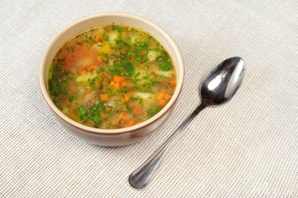 Prírodná zeleninová polievka |