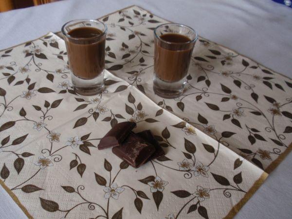 Domáci čokoládový likér |