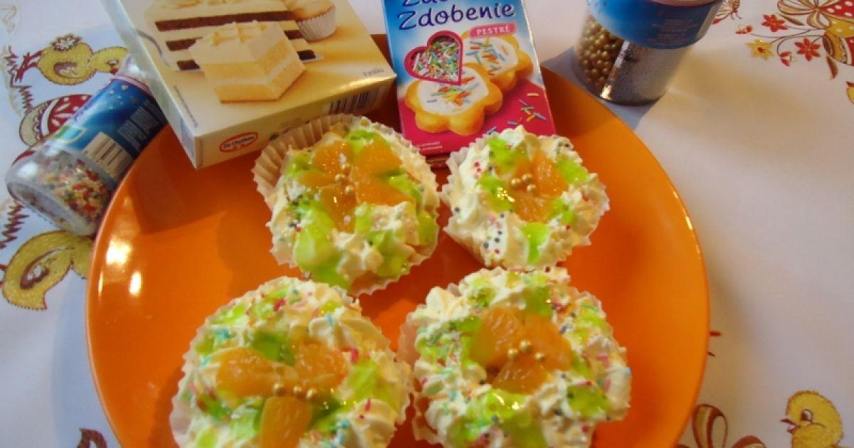 Ovocné košíčky s krémovou plnkou, fotogaléria 1 / 5.