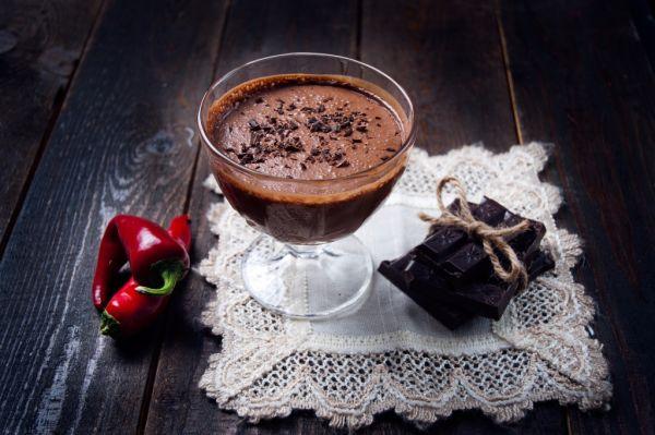 Horúca čokoláda s čili |