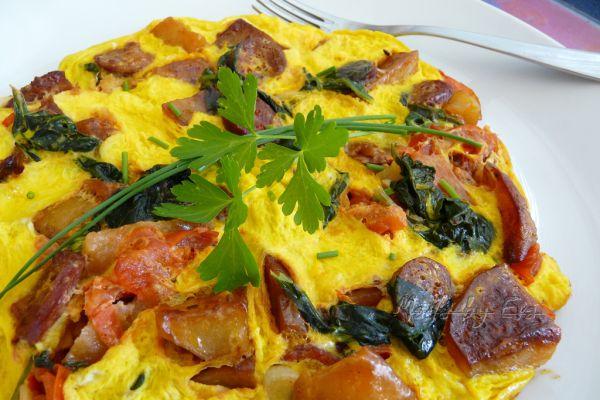 Sedliacka omeleta |