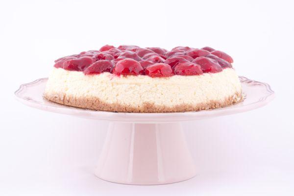 Jahodový cheesecake |