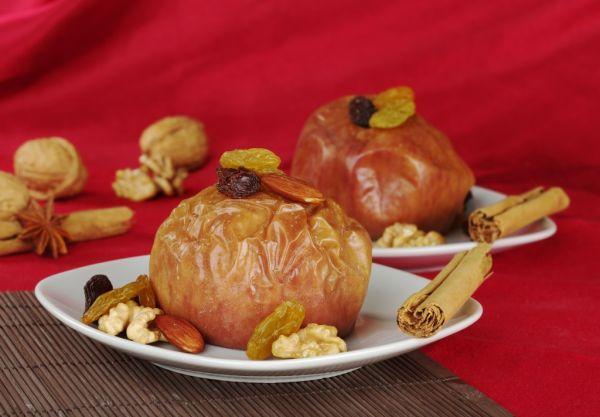 Plnené pečené jablká  