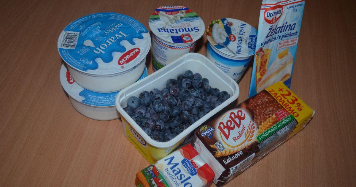 Čučoriedkový cheesecake, fotogaléria 2 / 8.