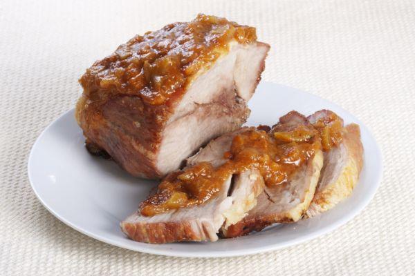 Bravčové mäso s marhuľovou omáčkou |