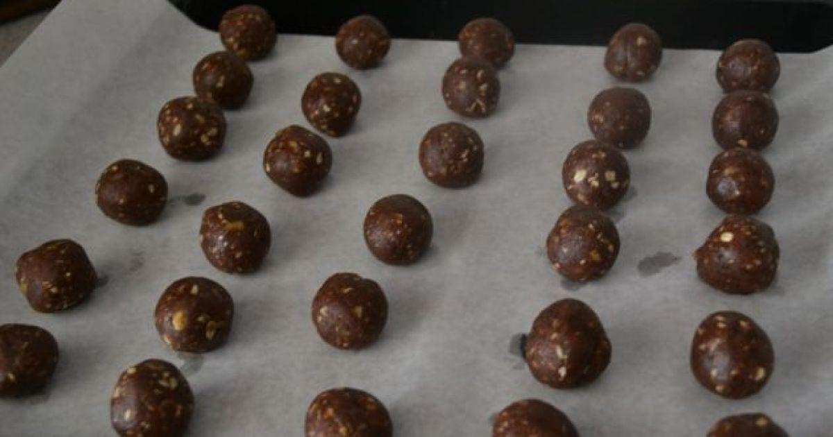 Čokoládové cookies s ovsenými vločkami, fotogaléria 9 ...