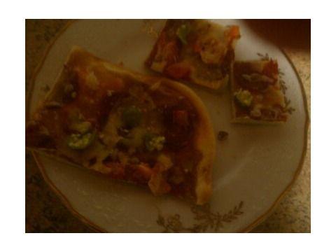Domáca feferonová pizza  