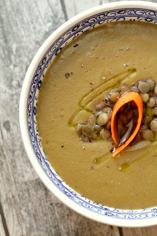Šošovicová polievka bez laktózy, lepku, pre vegánov |