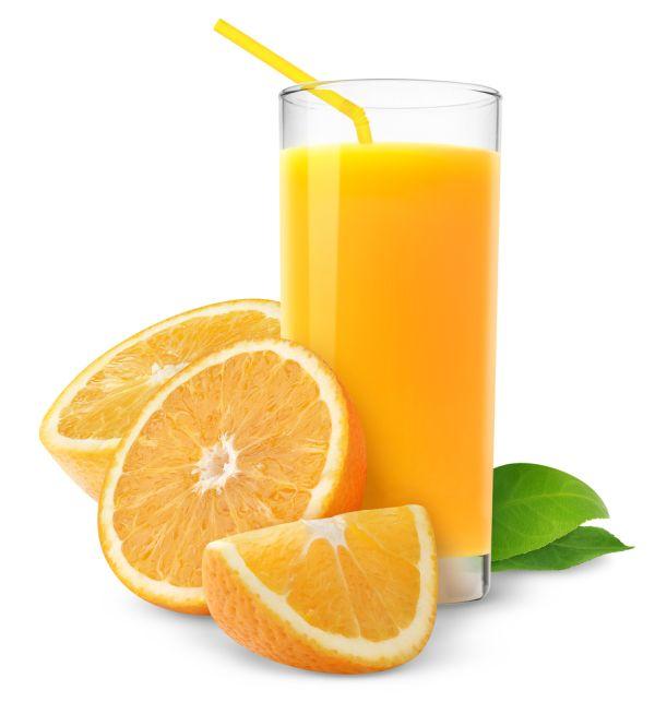 Pomarančový koktail s vínom |