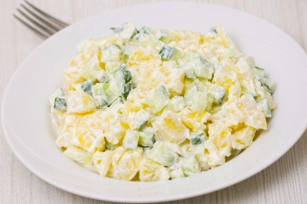 Zemiakový majonézový šalát |
