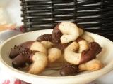 Rožteky máčané v nugátovej čokoláde