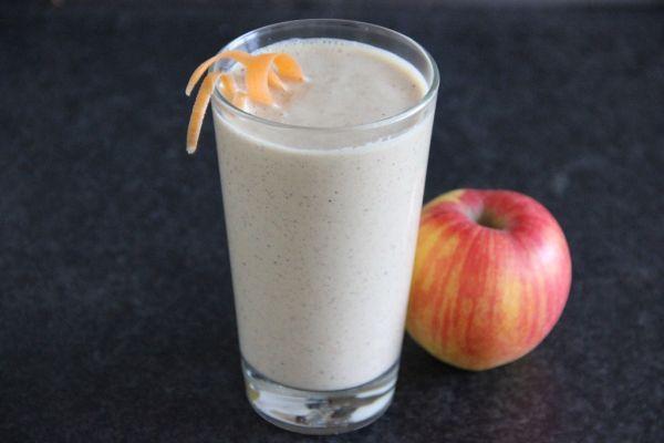 Jablkovo-mrkvový smoothie s ovsenými vločkami ...