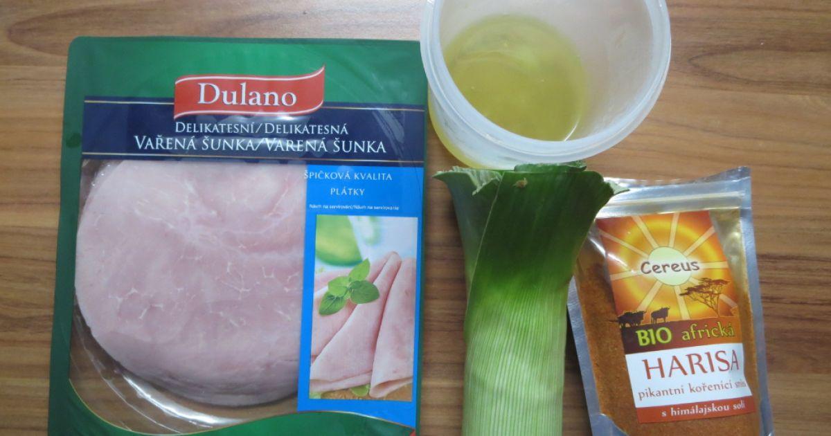 Bielkovinová omeleta s pórkom a harisou, fotogaléria 2 / 6.