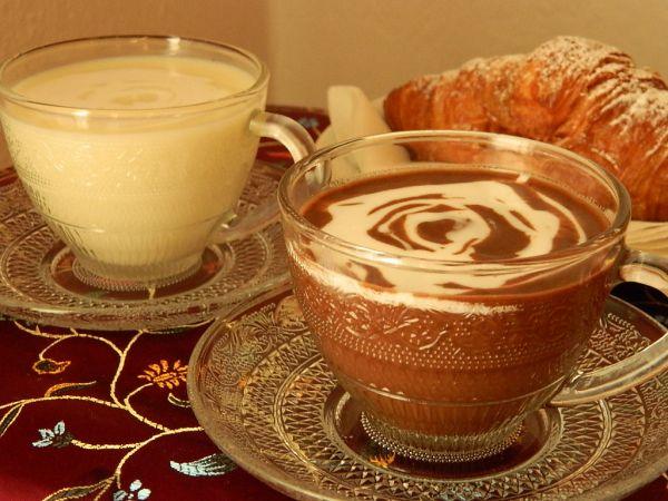 Horúca čokoláda s kokosovým mliekom |