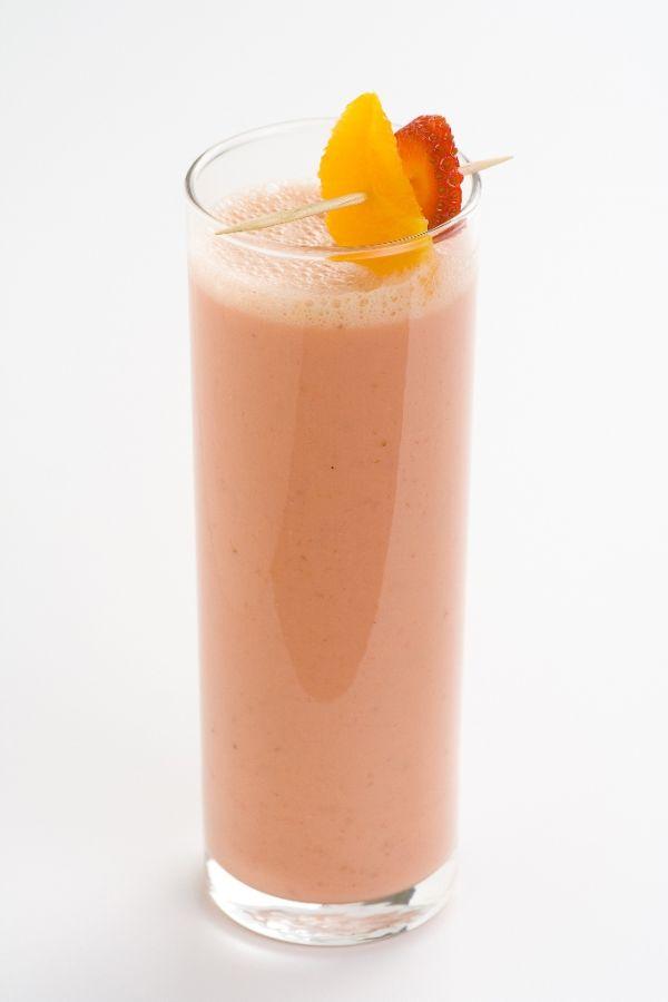 Pomarančovo- jahodový nápoj |