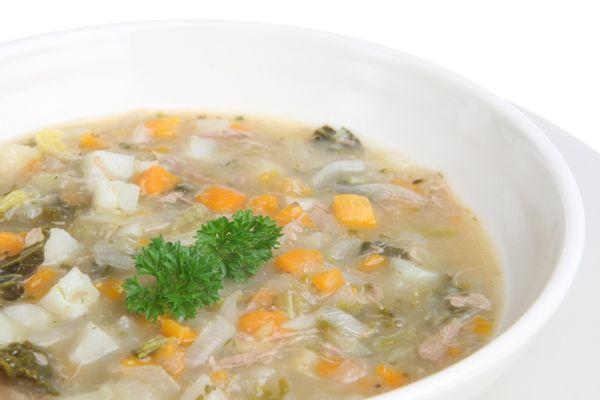Jahňacia polievka s krúpami |