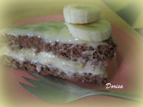 Orechová torta bez múky s pudingovým krémom ...