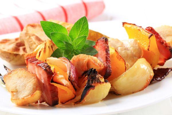 Podmagurské mäso na ražni pálené vodkou |