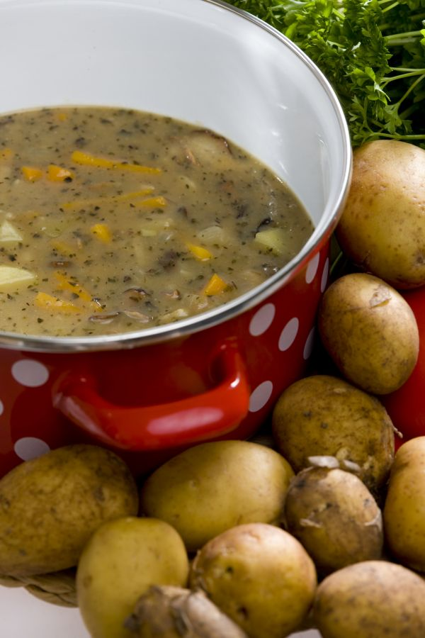 Pikantná zemiaková polievka |