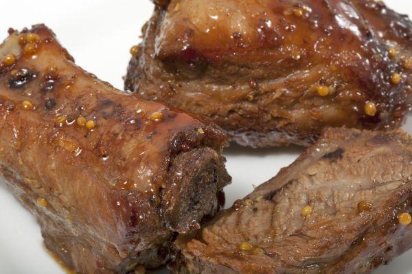 Bravčové mäso s medom |