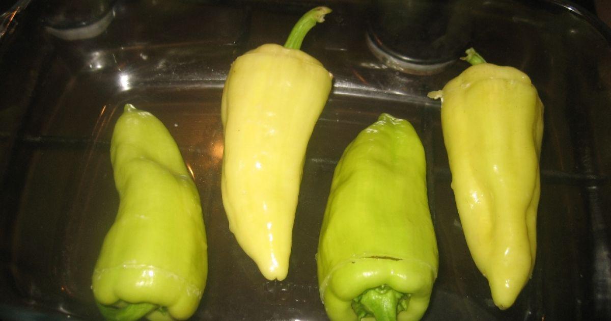 Pečená paprika plnená so syrom, fotogaléria 7 / 9.