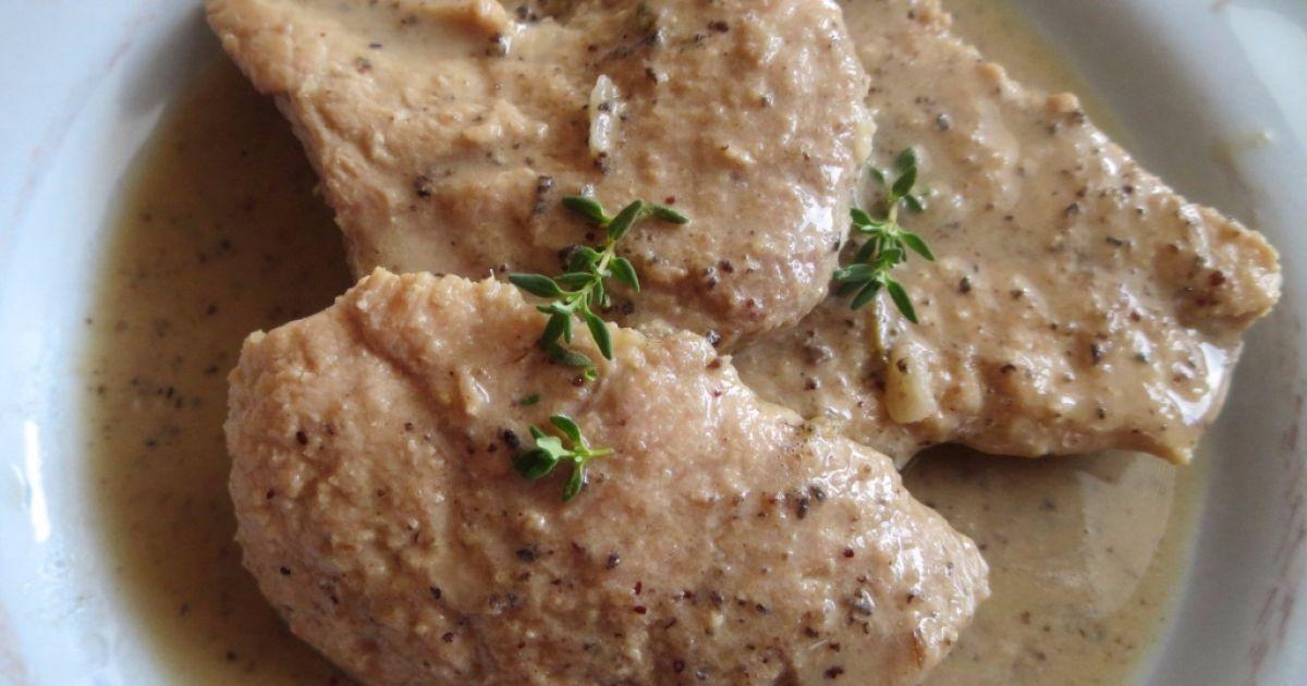 Bravčové plátky s olivovo-tymiánovou omáčkou ...