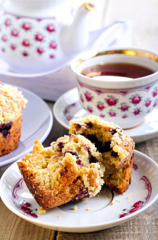 Čučoriedkovo-jablkové muffiny |