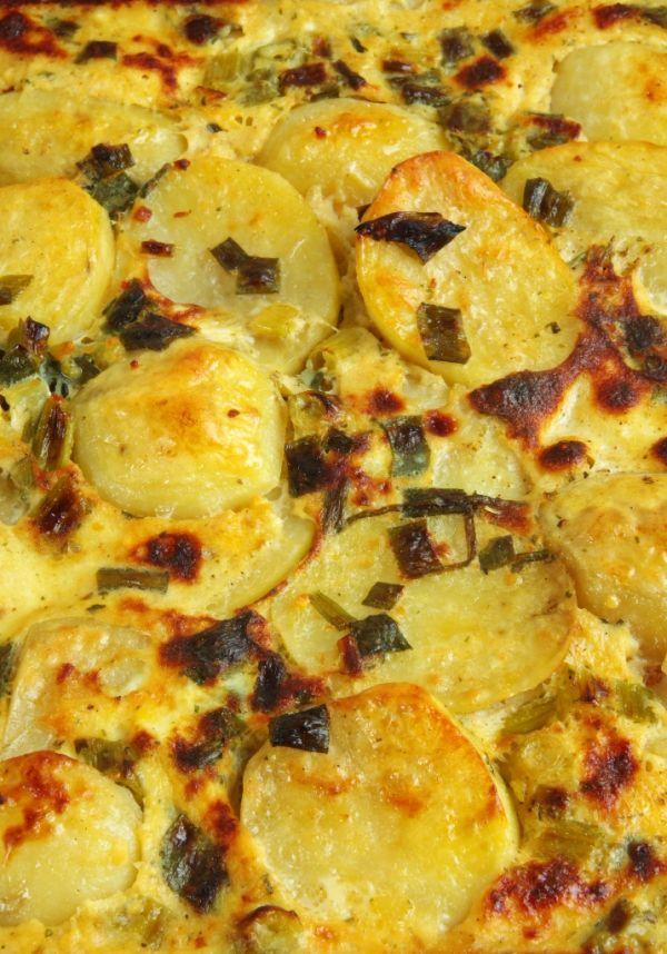 Fracúzske zemiaky s kuracím mäsom |
