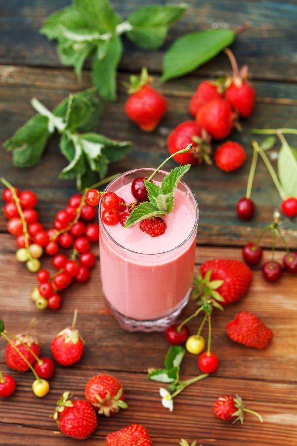 Letné smoothie z ovocia |