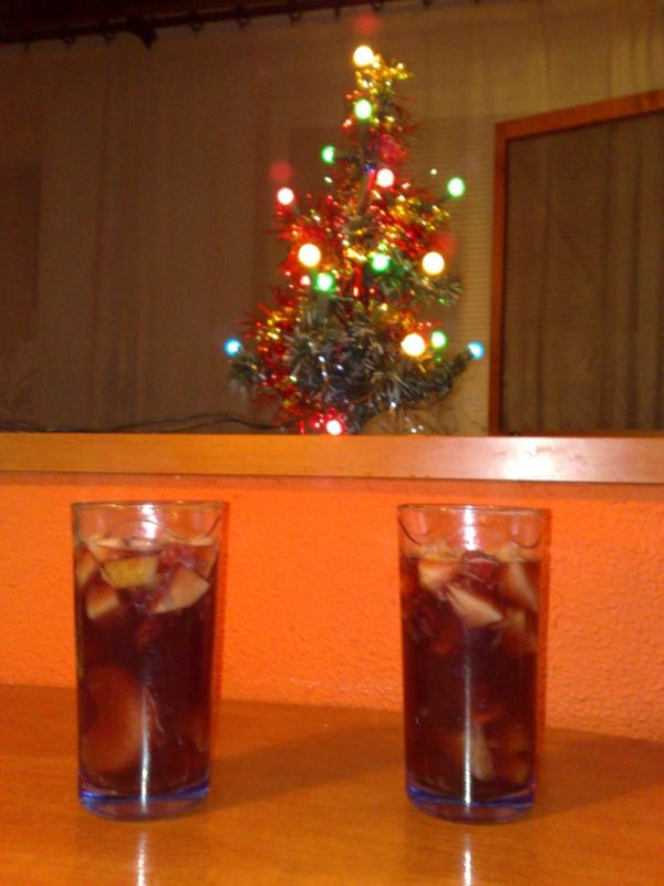 Voňavý vianočný ovocný punč |