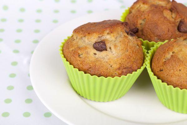 Banánovo-čokoládové muffiny |