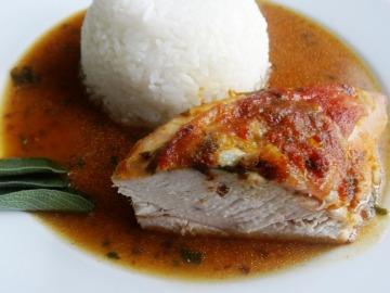 Kuře na šalvěji  Recepty na každý den