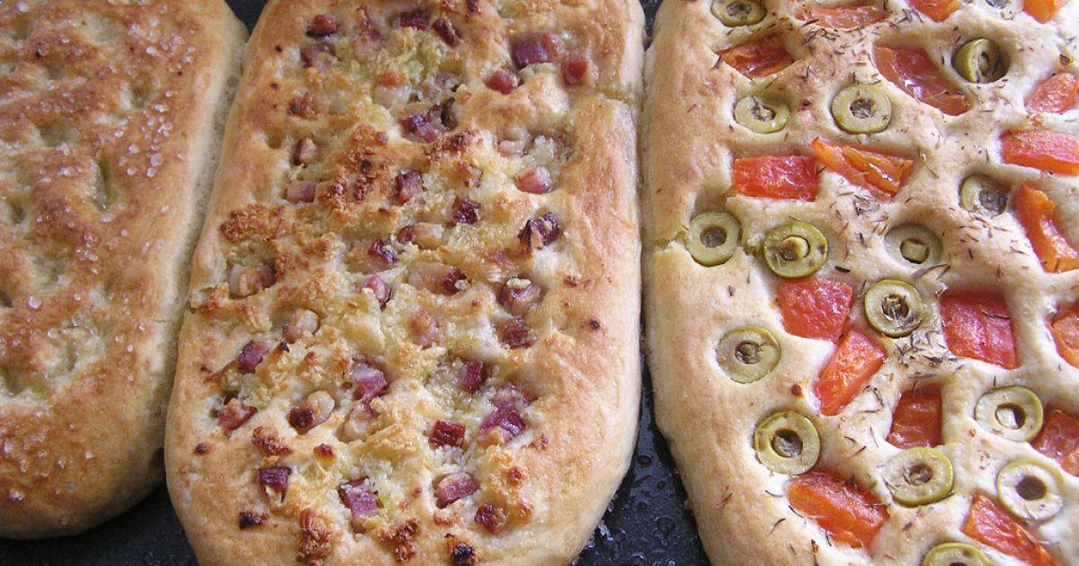 Focaccia  talianska chlebová placka, fotogaléria 7 / 8.
