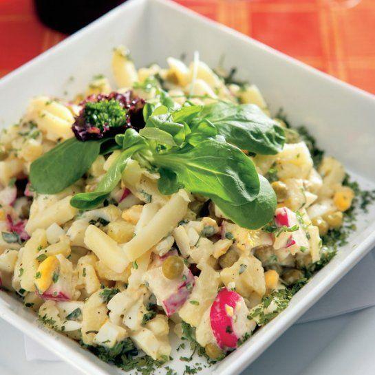 Zemiakovo-vajíčkový šalát s bylinkami |