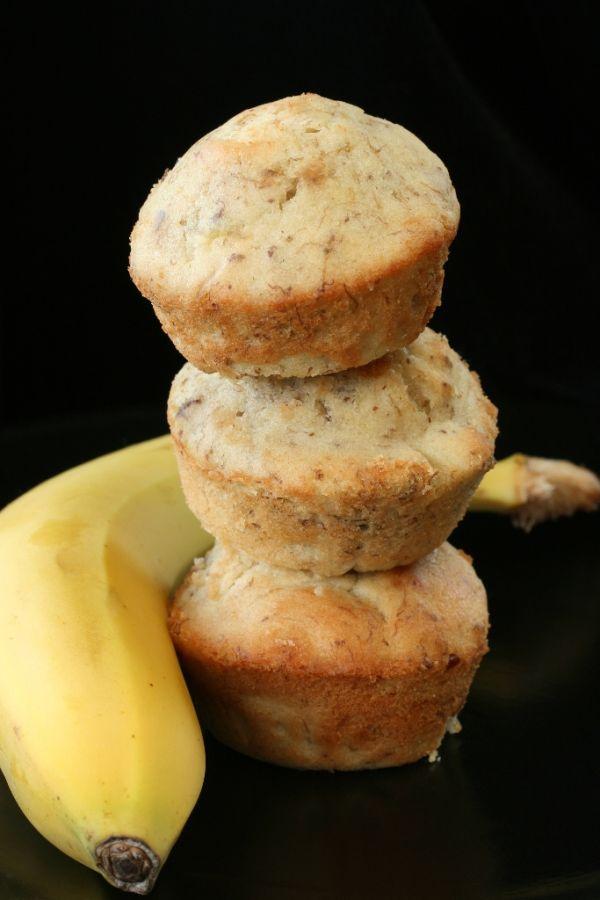 Banánové muffiny |