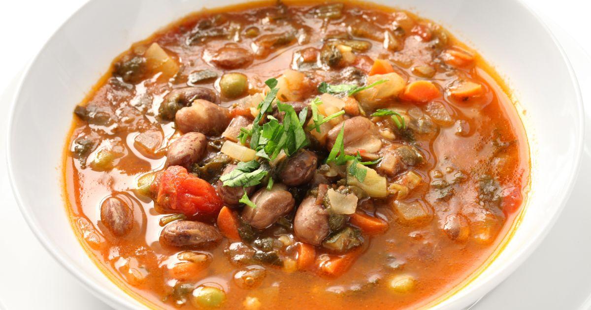 Talianska zeleninová polievka (minestrone), fotogaléria 1 / 1.
