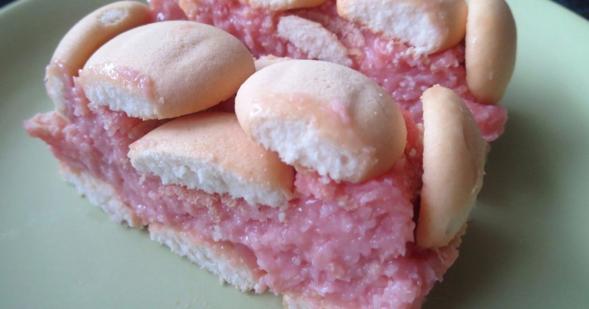 Kokosový pudingový koláč bez pečenia, fotogaléria 1 / 9.